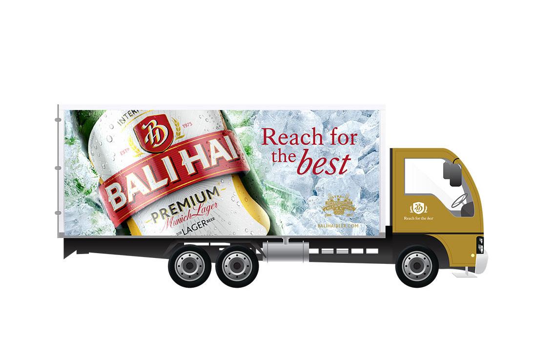 Bali Hai Beer Packaging - DIA Brands Singapore