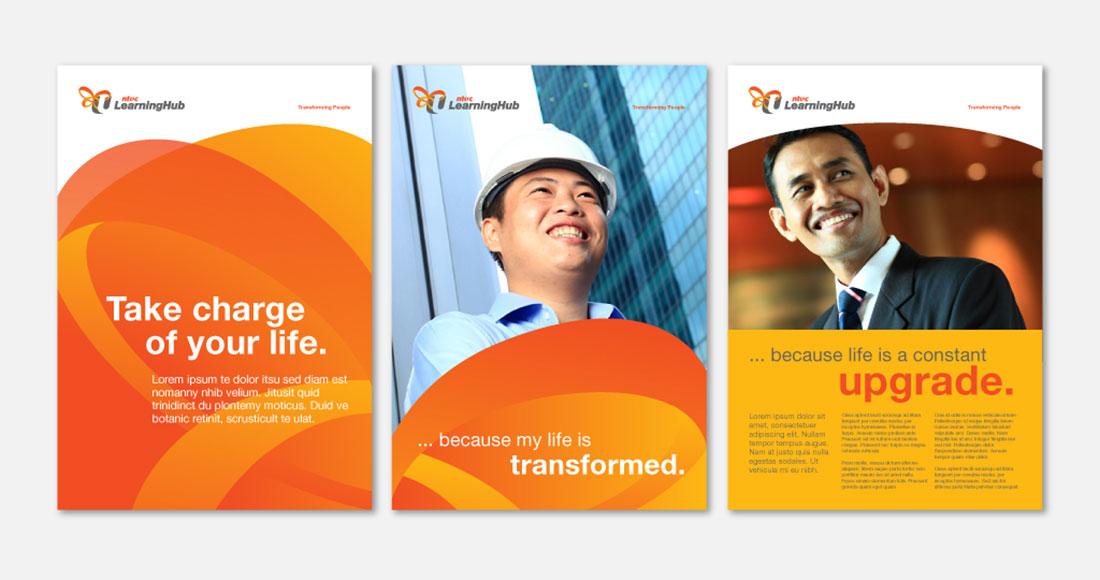 NTUC Learning Hub Branding - Singapore