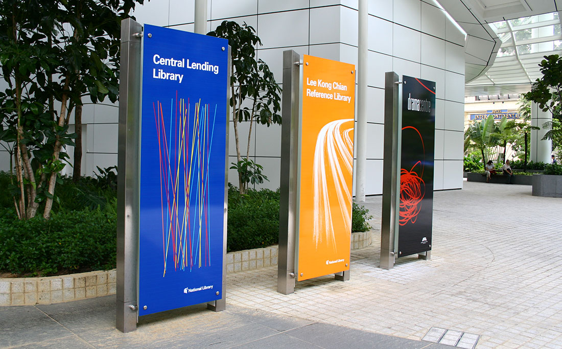 NLB National Library Board Branding - Singapore