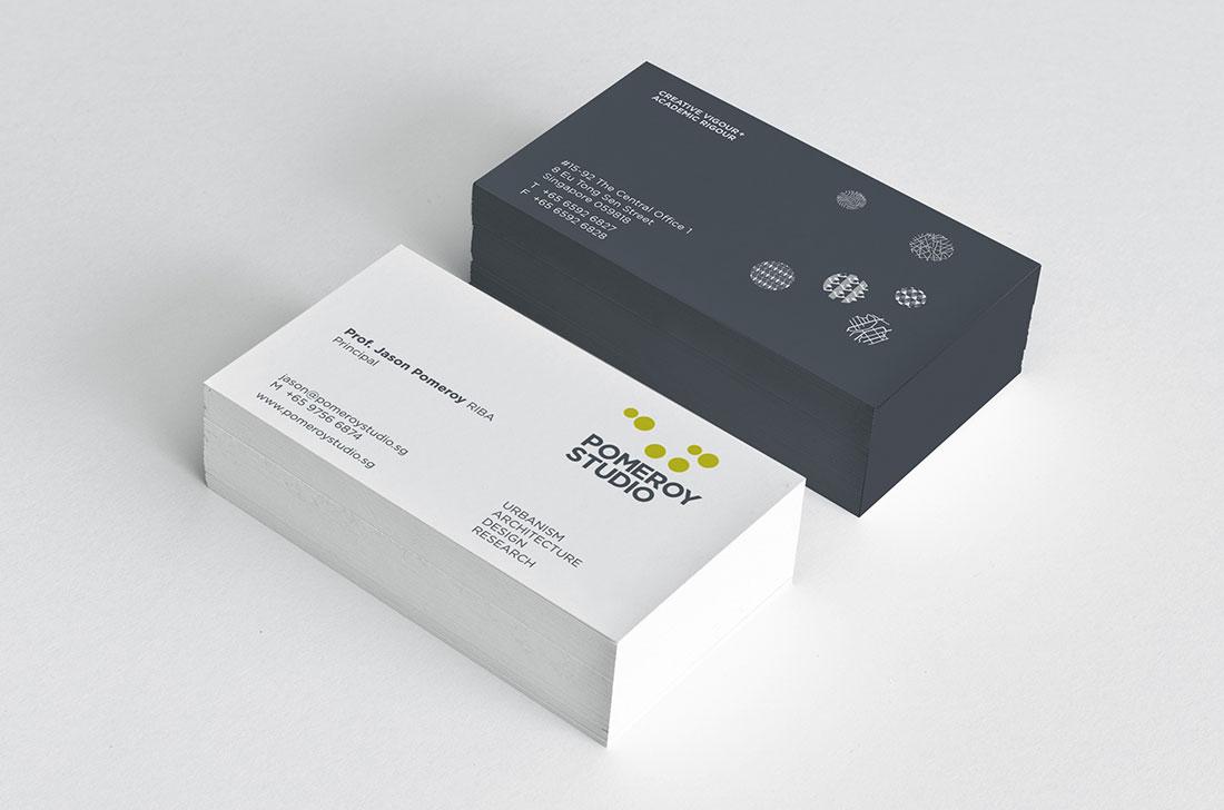 Pomeroy Studio Branding - Singapore