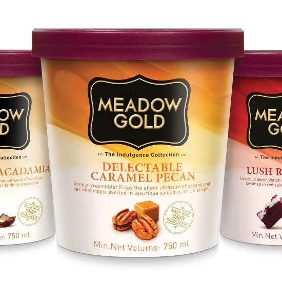 Meadow Gold Ice Cream Packaging - Malaysia