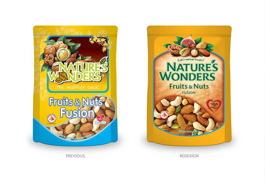 Nature's Wonders Packaging - Singapore