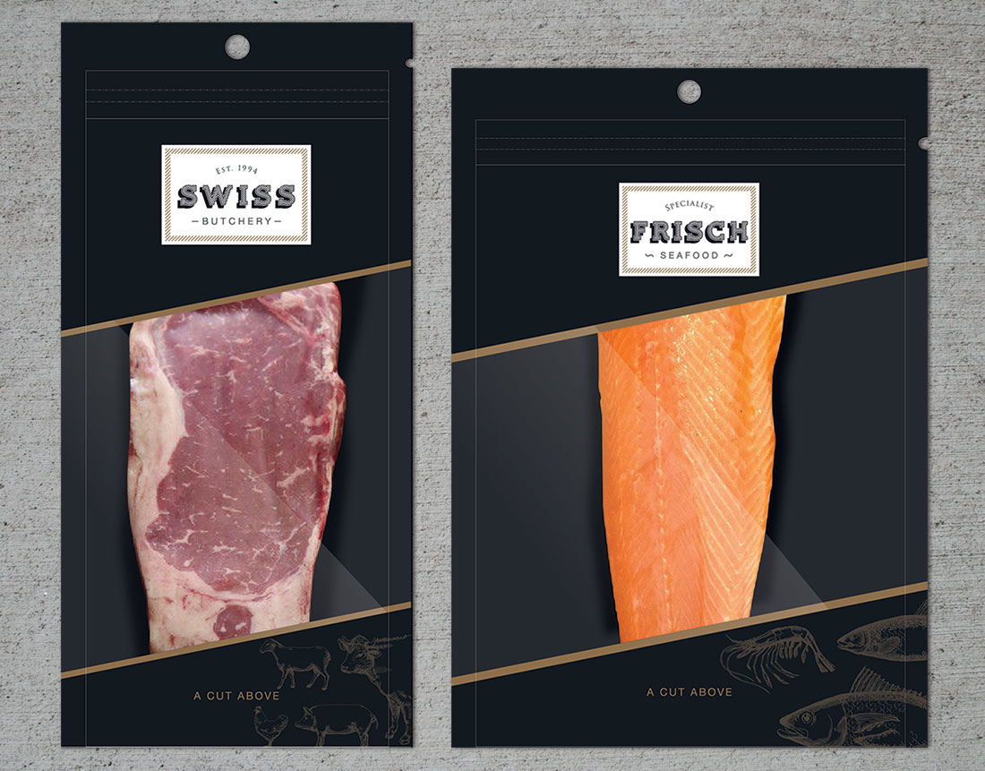 Swiss Butchery Branding - Singapore