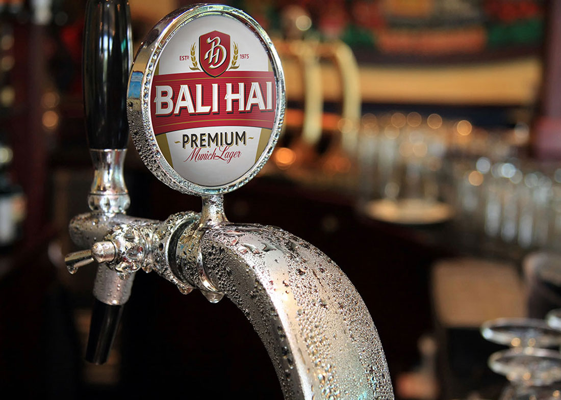 Bali Hai Beer Packaging - DIA Brands Singapore
