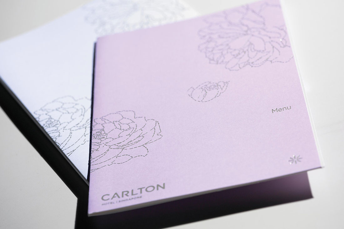 Carlton Hotel Branding - Singapore