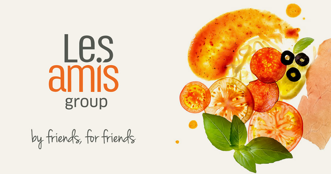 Les Amis Group Branding - Singapore