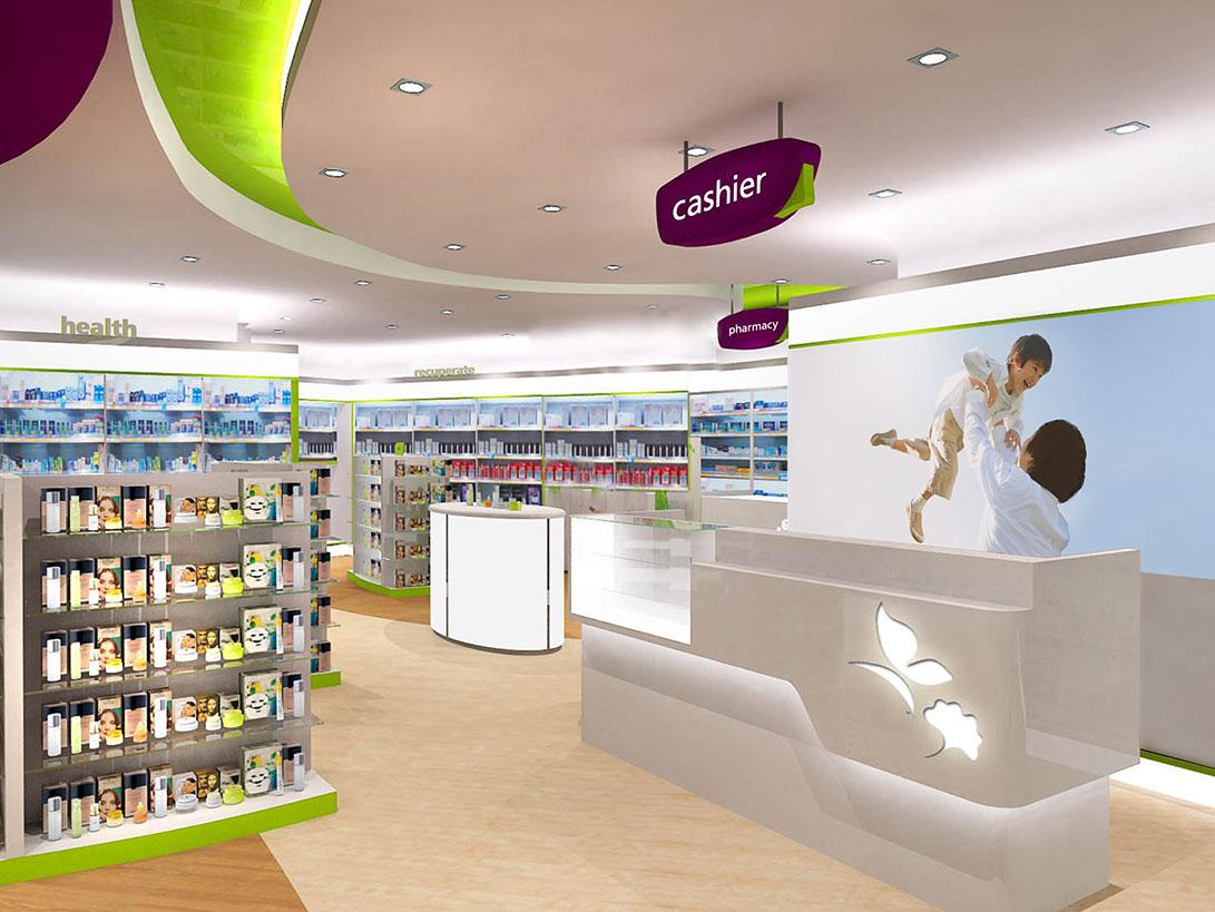 NTUC Unity Pharmacy Branding - Singapore