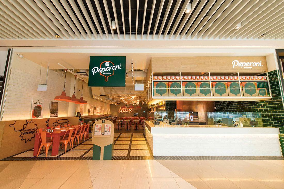 Peperoni Pizzeria Branding - Singapore
